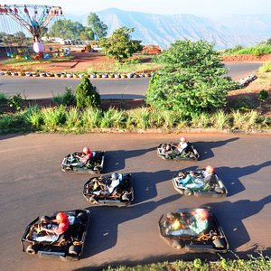 The largest Go-kart track in Panchgani and Mahabaleshwar.