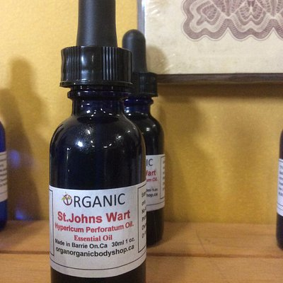 Essential Oils wildcrafted here at Organic Body Shop Factory Store