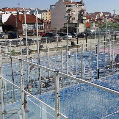 Campos de Padel em Lisboa Nacional Padel