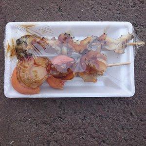 帯広の森野球場で購入した食べ物