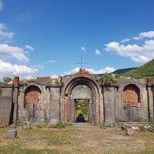 Havuts Tar monastery, Armenia.