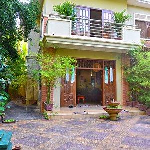 Main entrance to Wayist Spiritual Energy Center in Siem Reap, Cambodia