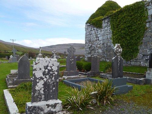 Bishop's Quarter with Burren behind