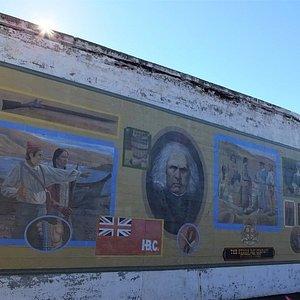 Hudson Bay Company mural