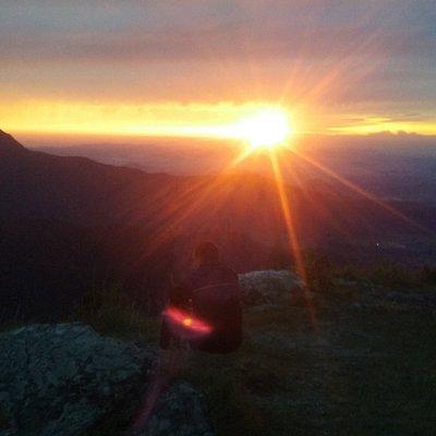 Canyon Indios Coroados - Por do Sol