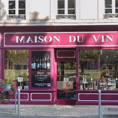 Façade de la Maison du Vin