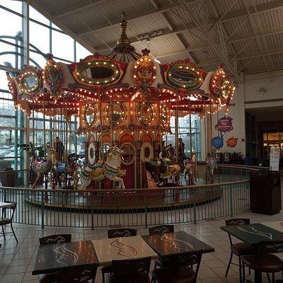 Carousel at the Food Court