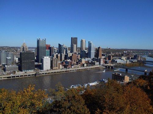 ダウンタウンを見下ろす風景
