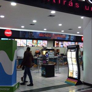 Multicines mall entrance