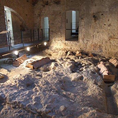necropoli bizantina IV° sec.