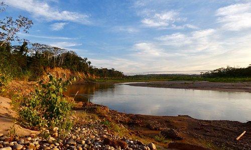 Rio Quiquibey close to Rio Beni