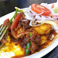 Prawns Varathathu - spicy