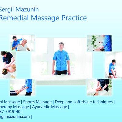 sergii mazunin massage practice