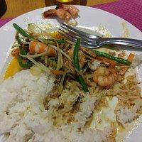 Les crevettes piquantes au basilic (gourmandise en cours)