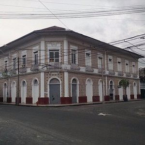 One of the homes built by the rubber barons about 1900.