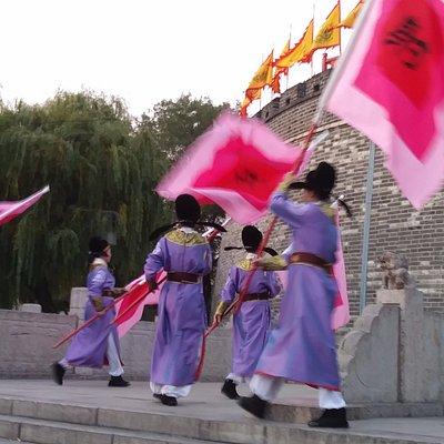 gate closing ceremony