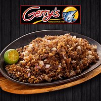 Best Selling Pork Sisig, only at Gerry's!