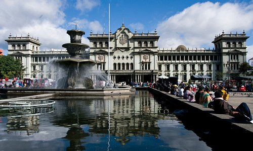Vistya general del Palacio de Cultura