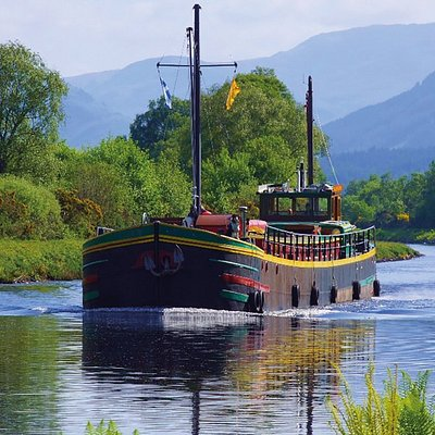Fingal of Caledonia in the Caledonian Canal.