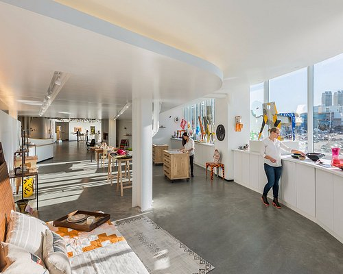 The Society of Arts + Crafts' Seaport District gallery is free and open to the public.