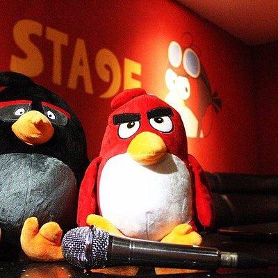 angry bird room