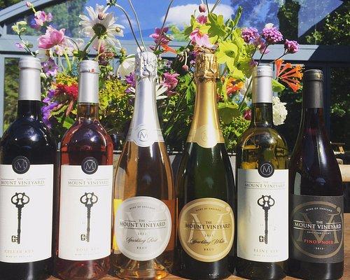 Current wine range