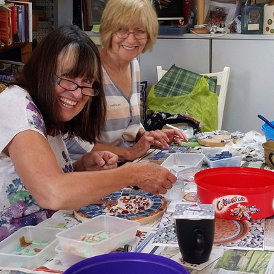 Mosaic Making - learn the techniques and take home a decorative piece