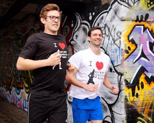 Running through East London's Street Art