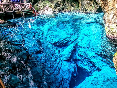 View of the Cenote