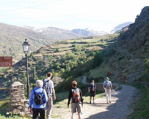 Guided walks in the Alpujarra