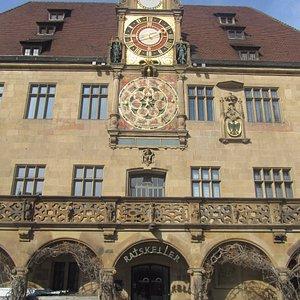 Rathaus von Heilbronn.