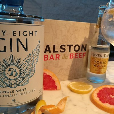 Alston Bar and Beef Gin Masterclass