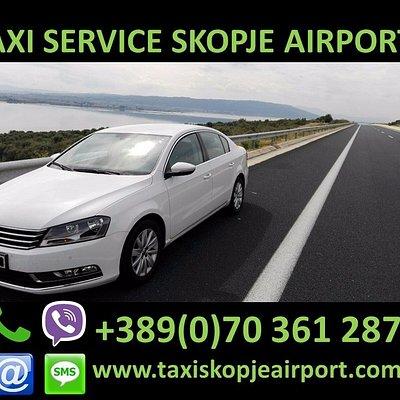 Taxi Service Skopje Airport