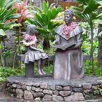In the Grounds of the Royal Hawaiian Center
