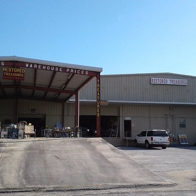 We have 20,000 sq. ft. of upscale thrift!