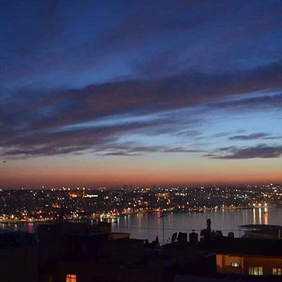 The best view of Goldenhorn
