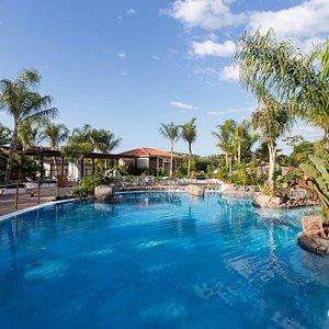 The Cenote Pool at the La Siesta Salou Resort & Camping