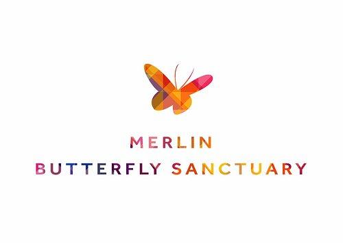 Merlin Butterfly Sanctuary Logo