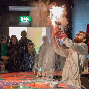 Immerse yourself in Professor Nitrate's Mad Lab!