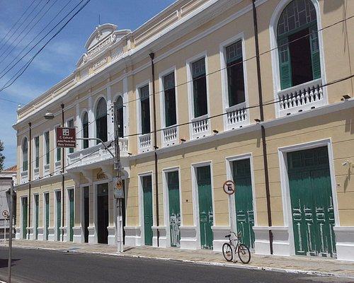 Fachada edifício  SESC Caixeiral  em Parnaíba - Piauí