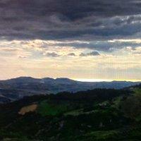 La veduta verso l'Adriatico !