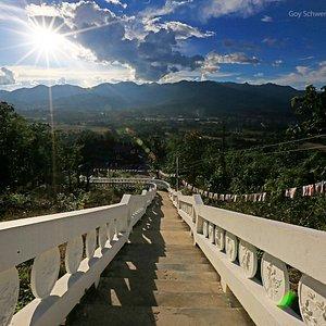 viele Stufen ohne Sonnenschutz nicht zu empfehlen