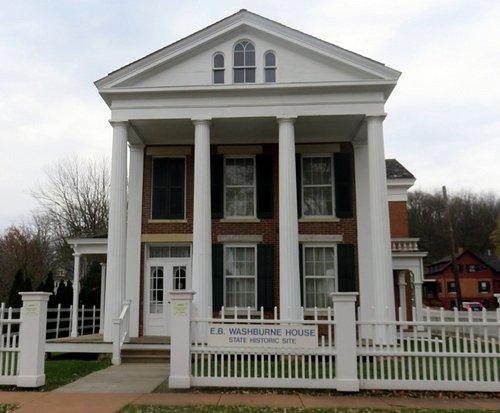 front of Washburne House