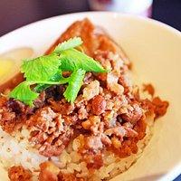 紅藜肉燥飯