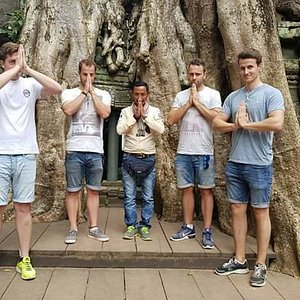 Clients from Australian learning to inspecting Cambodian culture