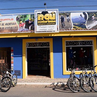 Loja e Agencia Bau Ecoturismo - Avenida Central de São Bento do Sapucaí