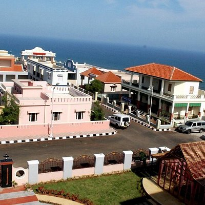 Ramanaidu Studio ariel view