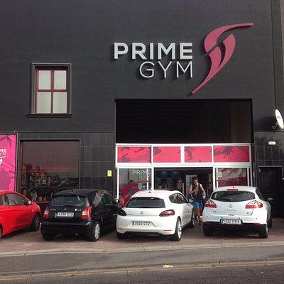 Prime Gym facade at Las Chafiras