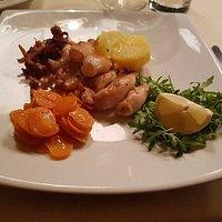secondo - Calamaretti ai ferri con verdure miste