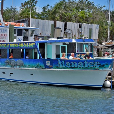 The Manatee Tour Boat